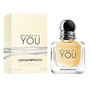 EMPORIO-ARMANI-Because-it-039-s-You-30ML-EAU-DE-PARFUM-IDEA-REGALO-NUOVO