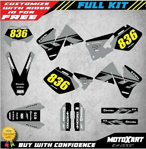 STORM SUZUKI RM 125-1999 Full  Custom Graphic  Kit 2000
