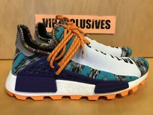 purchase cheap 74c2a bd519 Details about Adidas NMD Human Race Pharrell Williams Solar Pack Orange  BB9528