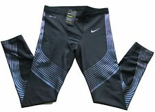New Nike Power Speed Mens Compression Running Tights XL 717750 Athletic Fitness