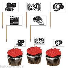50 Hollywood Vip Premi Film Cinema Film Festa Bandiera Snack Picks