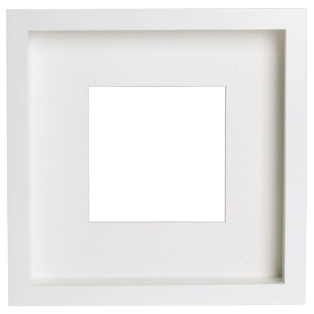 14x IKEA Ribba Square Photo Picture Deep Frame 50x50 Cm Mat - Black ...