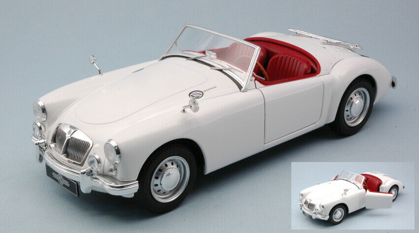 Mga mkii has 1600 open congreenible 1961 white 1 18 model triple 9