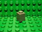 Lego NEW dark bluish gray 1 x 1 standard bricks Lot of 10