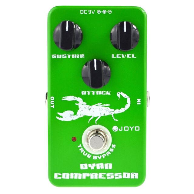 Joyo Jf-10 Dynamic Compressor Guitar AMP Effect Pedal True Bypass G2K4 X6W3