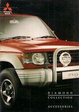 MITSUBISHI ACCESSORI 1993-1994 UK opuscolo Colt Lancer Galant SIGMA Shogun L200