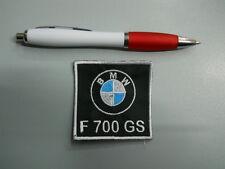 toppa patch BMW MOTORRAD F 700 GS embroidery ricamato termoadesivo 6x6