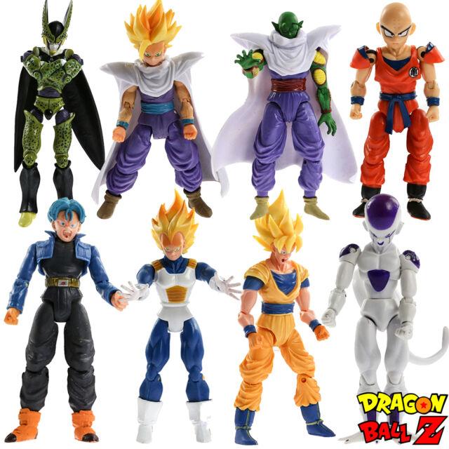 8pcs Set Dragonball Z Dragon Ball Dbz Joint Movable Action Figures Kids Toys For Sale Online Ebay