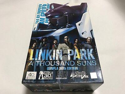 GUNDAM LINKIN PARK Gunpla 30th Edition A Thousand Suns CD /& 1//144 Model kit NEW