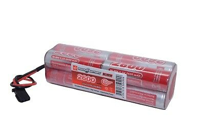 Radio Control Receiver Battery Pack 9.6v 2600mah 4x2SQ