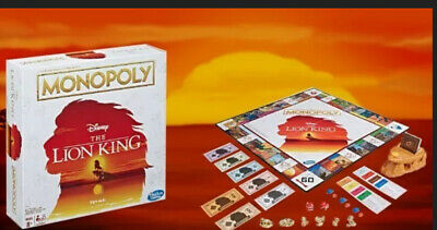 Monopoly Game Disney The Lion King LIMITED Edition Family Board Game