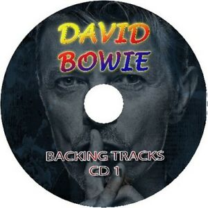 DAVID-BOWIE-GUITAR-BACKING-TRACKS-CD-BEST-GREATEST-HITS-ROCK-MUSIC-PLAY-ALONG