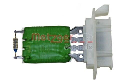 Metzger resistencia innenraumgebläse pieza de recambio original 0917320 para mini r55 r56
