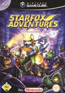 Nintendo-GameCube-Spiel-Starfox-Adventures-DE-EN-mit-OVP-sehr-guter-Zustand