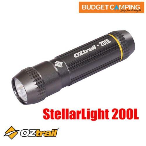 Oztrail 200L Stellarlight Flashlight Hand Torch