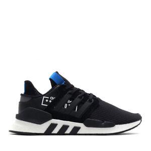 premium selection f502d 6720e Details about Adidas Originals Men's EQT Support 91/18 NEW AUTHENTIC  Black/Blue/White D97061