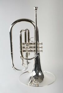 TEMPEST-AGILITY-WINDS-F-MARCHING-MELLOPHONE-SILVER-PLATED-BIG-SOUND-SOLID-BRACES