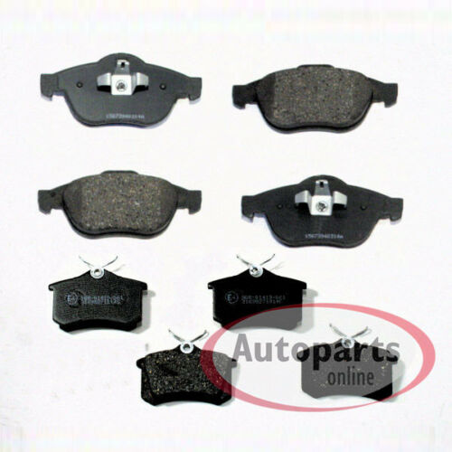 Renault Megane 2 II Bremsbeläge Bremsklötze Bremsen für vorne hinten