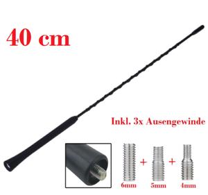 Antenne Autoantenne 41cm KFZ FM//AM Antennenstab Stabantenne für Suzuki