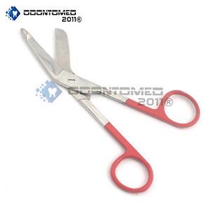 Color-Bandage-Scissor-Paramedic-Nurses-Uniform-Supply-Red-Handle