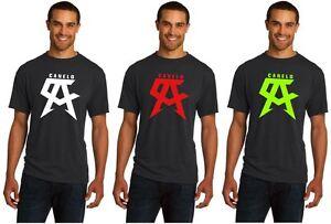 New-SAUL-ALVAREZ-CANELO-Boxing-Logo-Champion-Men-039-s-Black-T-Shirt-Tee-size-S-5XL