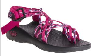Chaco ZX 3 Clásico lluvia Sandalia cómoda Frambuesa Para Mujer Tallas 5-11 NEW