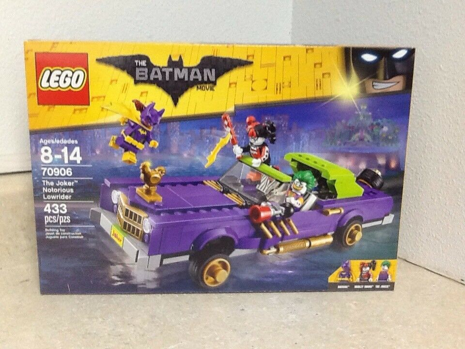 Lego The Batman Movie The Joker Notorious Niedrigrider 70906 Inc. 3 Minifigs