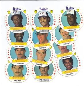 RARE-1988-TORONTO-BLUE-JAYS-HOSTESS-CARD-LOT