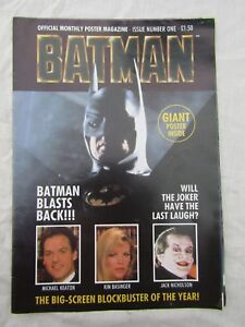 BATMAN-OFFICIAL-POSTER-MAGAZINE-issue-one-large-poster