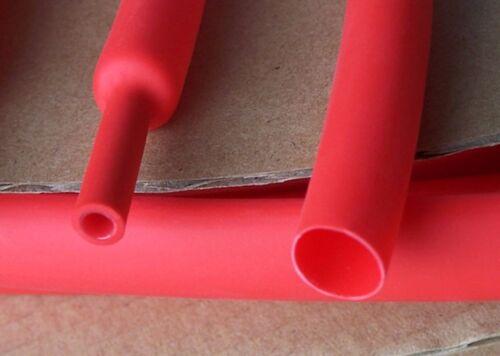 Φ4mm Adhesive Lined 4:1 Red Waterproof Heat Shrink Tubing 5M Tube Sleeve