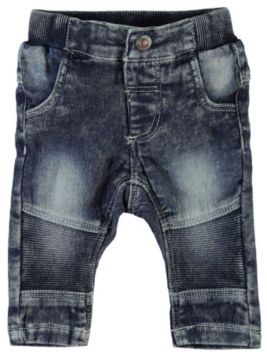 NAME IT weiche Baby Jeans Slim Fit Sweat Denim Hose im Biker Stil Jungen Mädchen