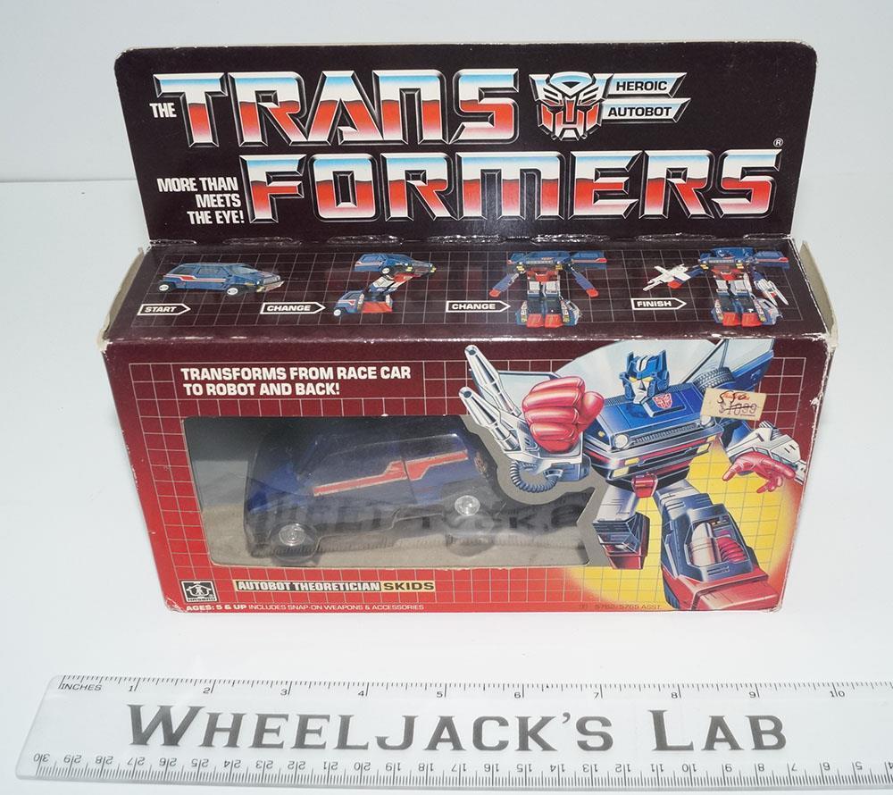 punto de venta Patines Patines Patines Menta en caja 100% completo 1985 Vintage Hasbro Figura De Acción Transformers G1  solo cómpralo