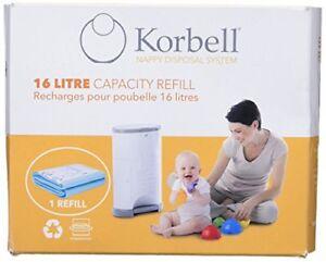 Korbell-Bin-Liner-Standard-Refill-16-Litre-Green
