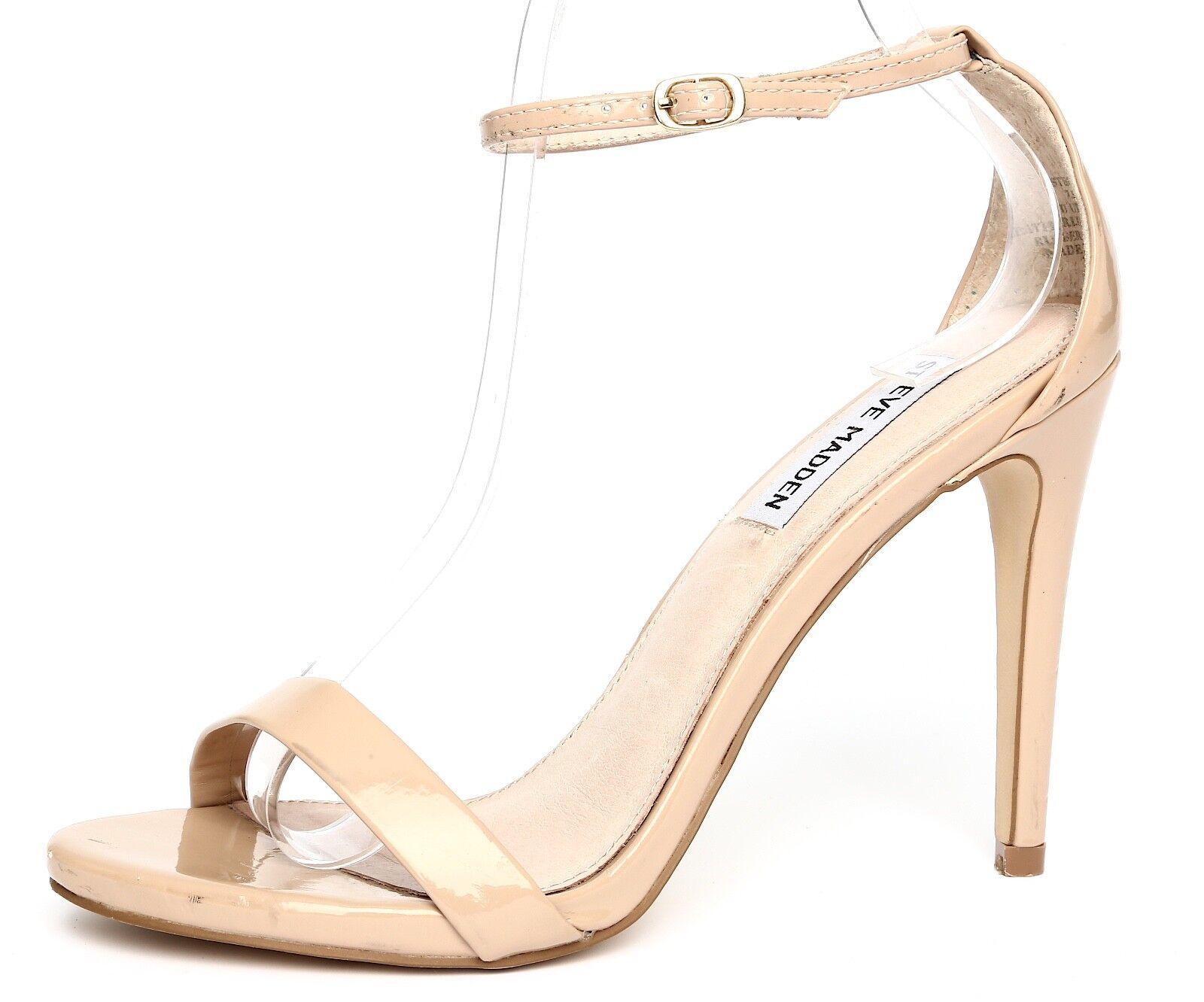 profitto zero Steve Madden Stecy Patent Leather Nude Nude Nude Ankle Strap Sandal Heels Sz 7.5M 4508  liquidazione fino al 70%