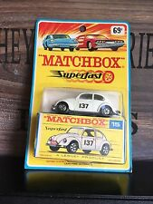 Matchbox Superfast no.15A-1.Rare Version OVP very Rare mint from 1969