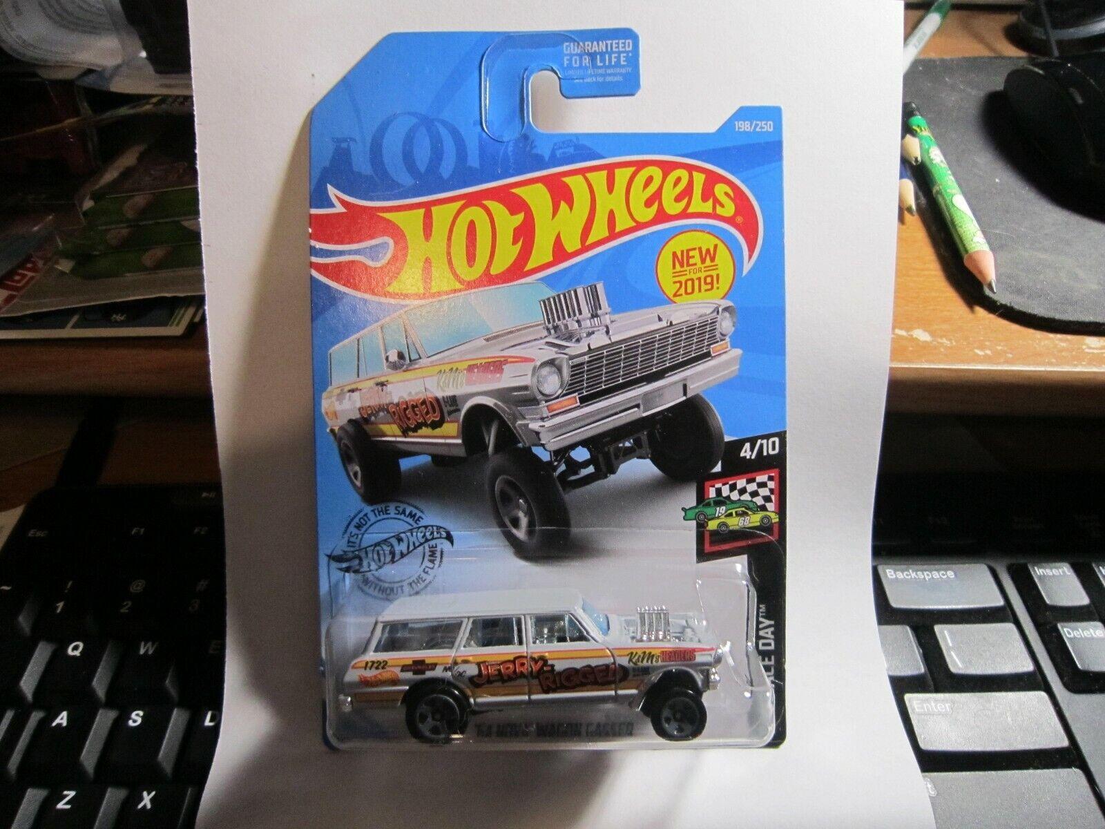 Hot Wheels /'64 Nova Wagon Gasser 2019-198 CP08