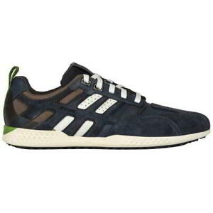 Details about Geox Nebula B Mens Black Blue Grey Breathable Walking Trainers Shoes Size 8 11
