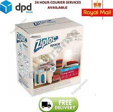 12 Combination Pack Space Saving Storage Bags Vaccum / Roll Ziploc Vacum New