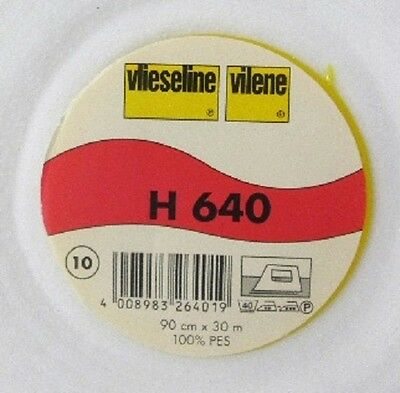 30 m H640 Freudenberg 7,60 Euro/m Vlieseline Volumenvlies 90cm breit H 640 Vlies