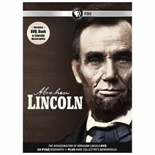 Abraham Lincoln DVD Region 1 Brand New & Sealed PBS