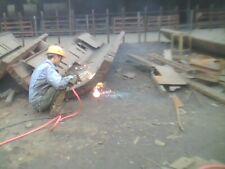 Oxygen Gasoline Cutting Torch Big Savings Vs Acetylene Propane Cut 4 Steel