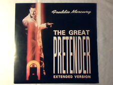 "FREDDIE MERCURY The great pretender 12"" ITALY QUEEN PLATTERS"