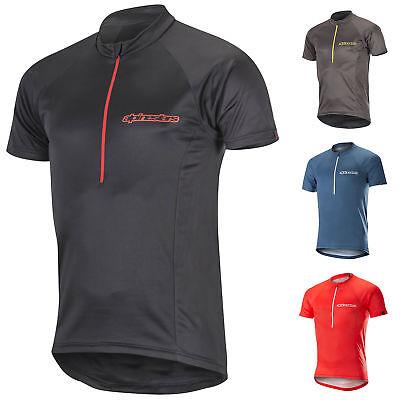 1763317 Alpinestars Da Uomo Elite Ss Mtb Jersey T-shirt Downhill Mountain Bike Top-mostra Il Titolo Originale Domanda Che Supera L'Offerta