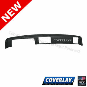 Coverlay-Dash Board Cover Taupe Gray w//Outside Speakers 18-658-TGR For El Camino