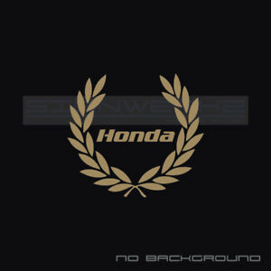 Honda Racing Decal Sticker S2000 Civic Type R Integra Accord Turbo F1 Vtec Pair