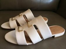992d02c6aa1c Calvin Klein Women s Evita Gladiator Slide Sandals Leather US Sz 10 M EU  40.5