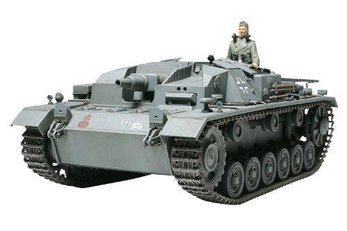 TAMIYA 1 35 German Sturmgeschutz III Ausf.B (Sd.Kfz142) Model Kit NEW from Japan