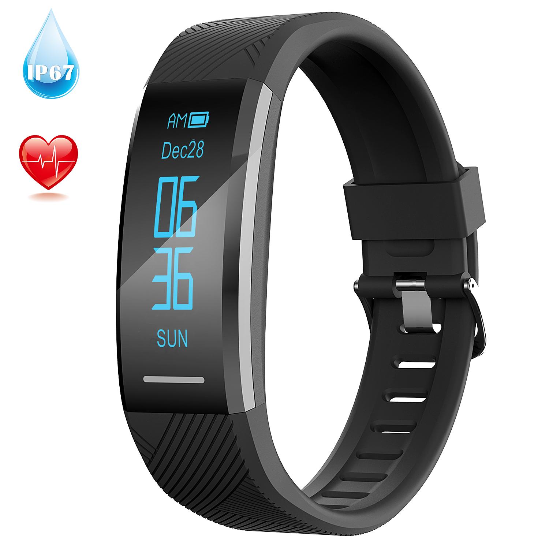 AGPTEK Fitness Tracker Smart Watch Waterproof Fitbit Style H