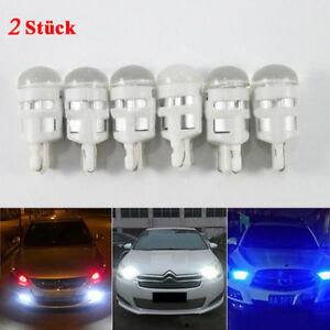 2-Stueck-T10-LED-Lampe-Licht-1-SMD-5W-Canbus-Standlicht-DC-12V-Weiss-Beleuchtung