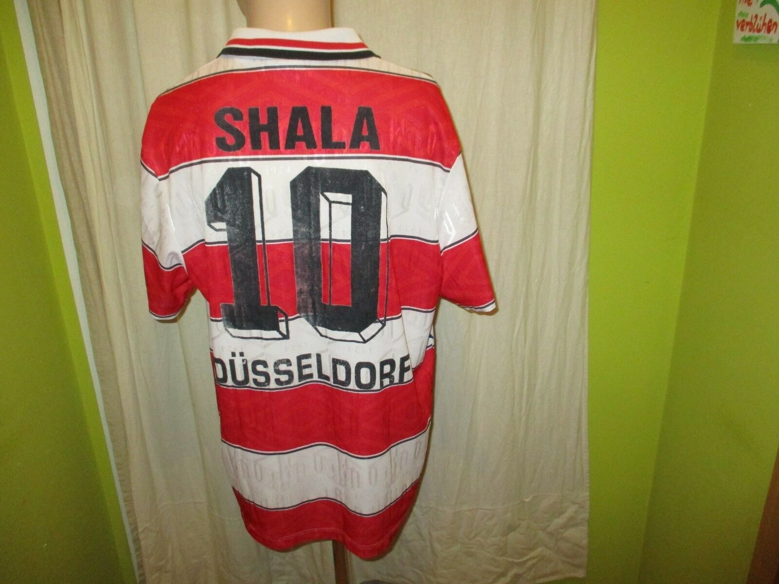 Fortuna Düsseldorf Original umbro Matchworn Trikot 1995 96 + + + Nr.10 Shala Gr.XL 2dcb62